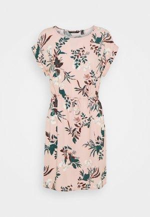 VMSIMPLY EASY TIE SHORT DRESS - Vestido informal - misty rose