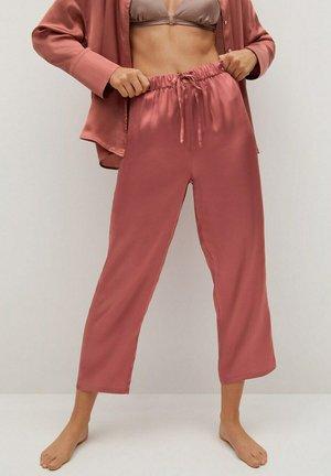 SATINI - Pyjama bottoms - naranja tostado