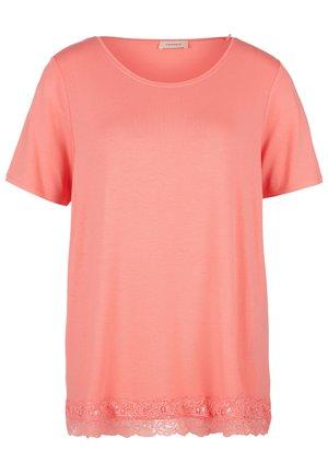 T-shirt print - sugar coral