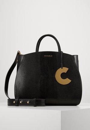 CONCRETE LIZARD - Handbag - noir