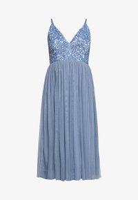 Lace & Beads Petite - IRINA MIDI - Juhlamekko - dusty blue - 4