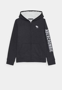 Abercrombie & Fitch - ICON - Zip-up hoodie - black - 0