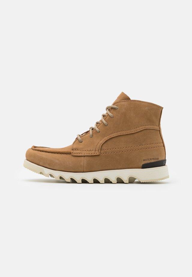 KEZAR MOC WP - Lace-up ankle boots - brown
