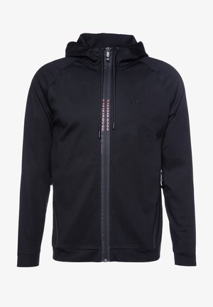 SWOVEN - Zip-up hoodie - black