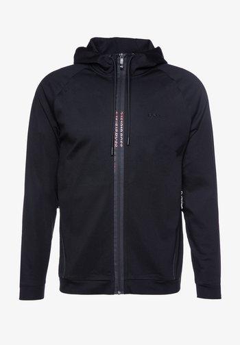 SWOVEN - Zip-up hoodie - black