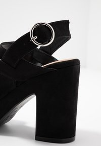 New Look - SELVEDERE - High heeled sandals - black - 2