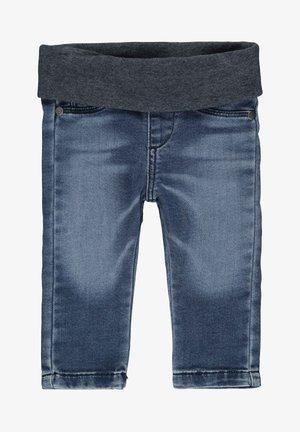 STEIFF COLLECTION HOSE JEANS WIRK MIT SCHLUPFBUND - Straight leg jeans - ensign blue