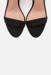 Madden Girl - BEELLA - Højhælede sandaletter / Højhælede sandaler - black - 5