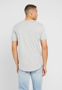 Only & Sons - ONSMATT LONGY 7 PACK - T-shirts basic - white/cabernet melange/forest night melange - 2