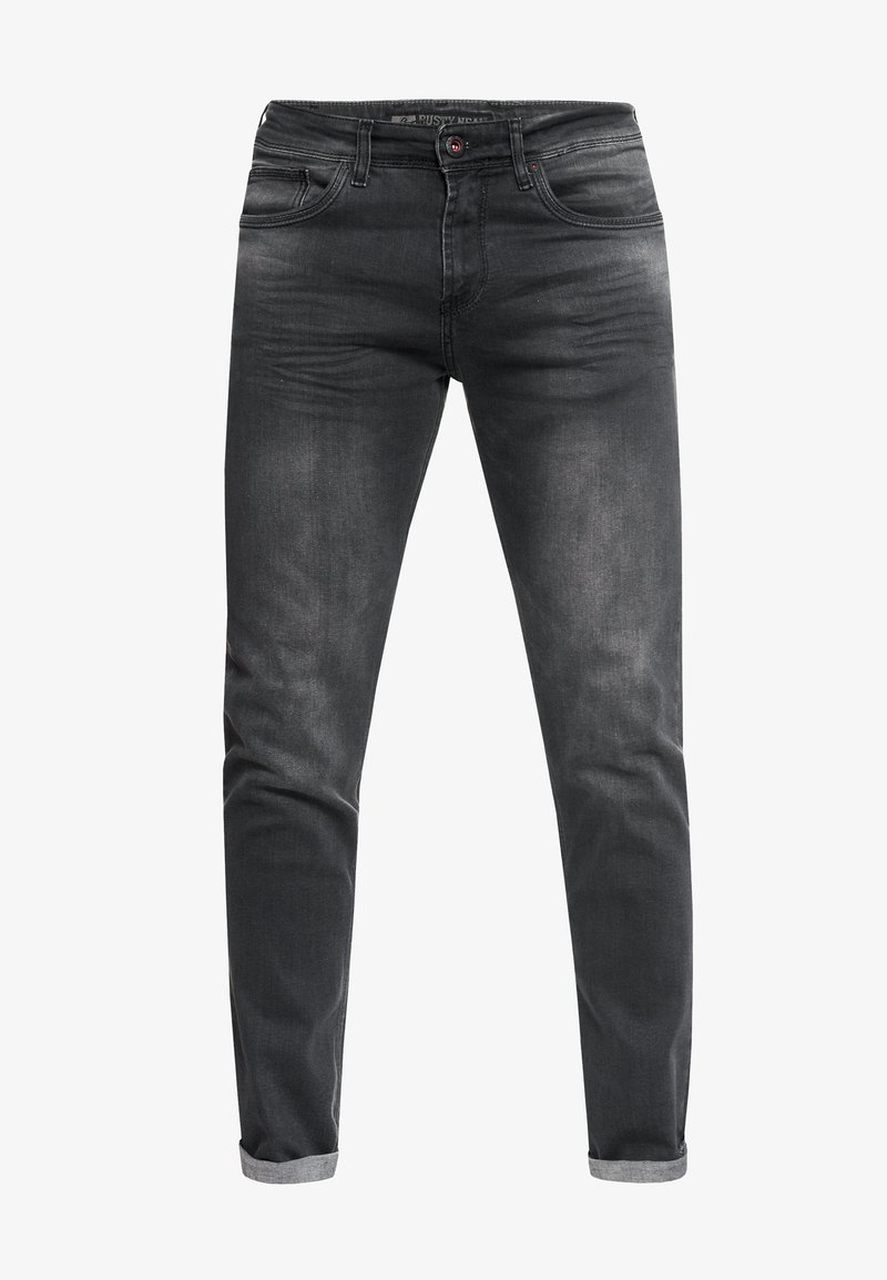 Rusty Neal - MELVIN - Slim fit jeans - anthrazit