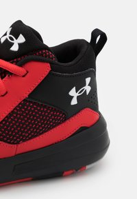 Under Armour - LOCKDOWN 5 UNISEX - Zapatillas de baloncesto - versa red - 5