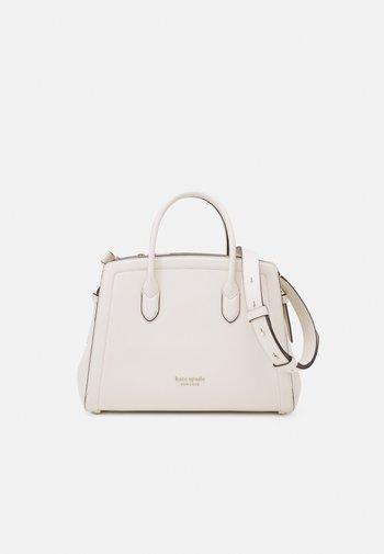 MEDIUM SATCHEL - Handbag - parchment