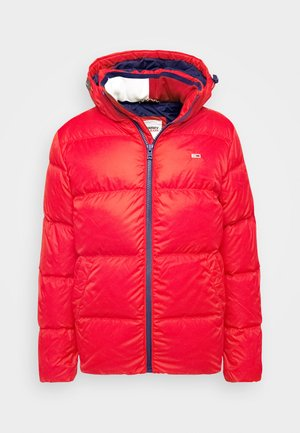 TJM ESSENTIAL DOWN JACKET - Chaqueta de plumas - deep crimson