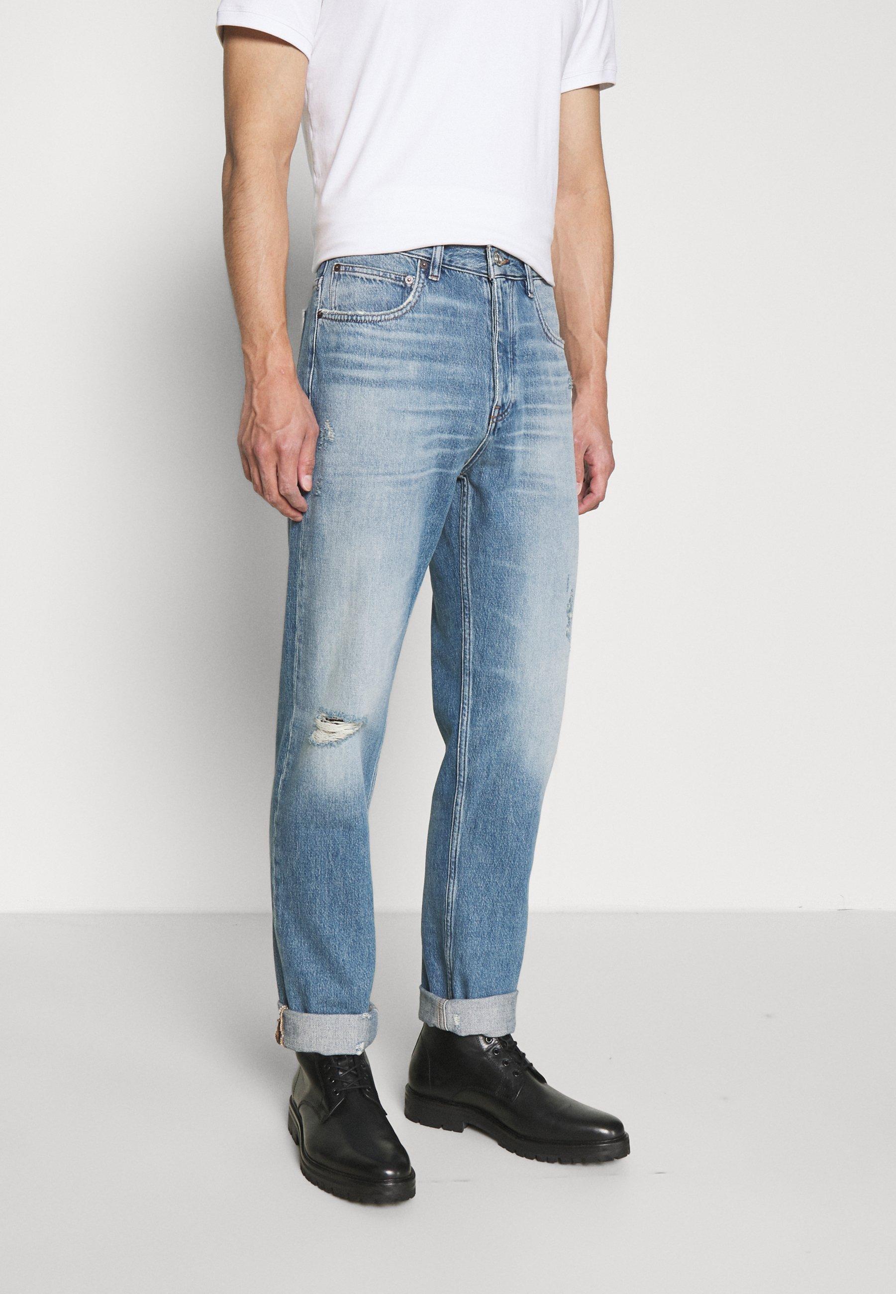 Men DISTRESSED STRAIGHT - Straight leg jeans