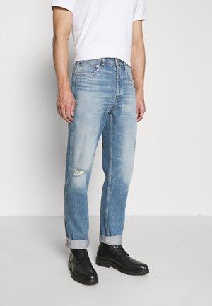 DISTRESSED STRAIGHT - Džíny Straight Fit - vintage blue