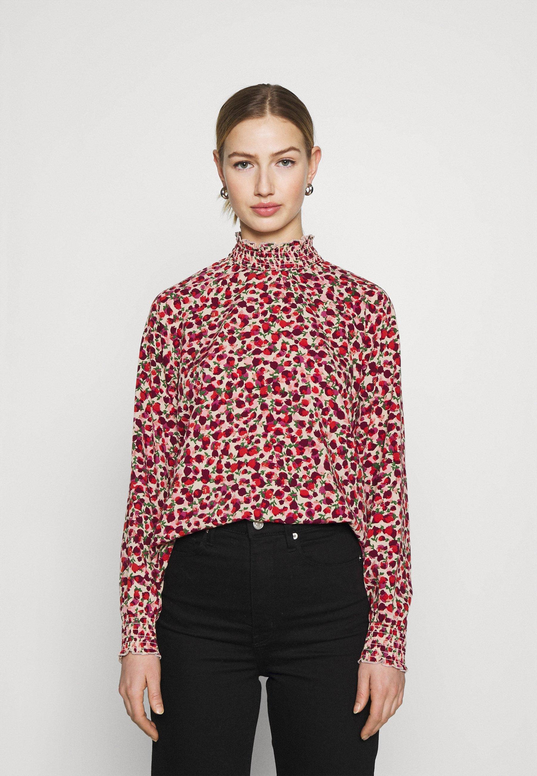 Women TESSY BLOUSE - Long sleeved top - duttyrose