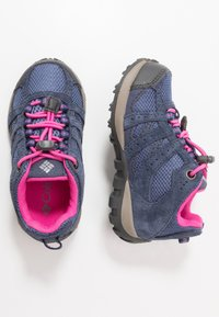 Columbia - CHILDRENS REDMOND WATERPROOF - Hiking shoes - bluebell/pink ice - 0