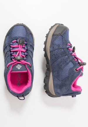 CHILDRENS REDMOND WATERPROOF - Zapatillas de senderismo - bluebell/pink ice
