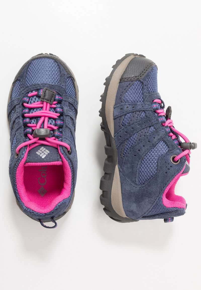 Columbia - CHILDRENS REDMOND WATERPROOF - Hiking shoes - bluebell/pink ice