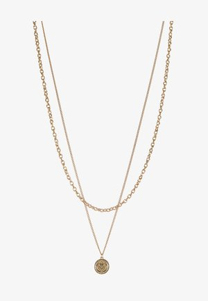 IN WFTW WE TRUST LAYERED NECKLACE - Halsband - gold-coloured