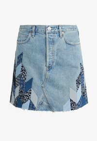Citizens of Humanity - ASTRID  - Denim skirt - caliqoue patch - 3