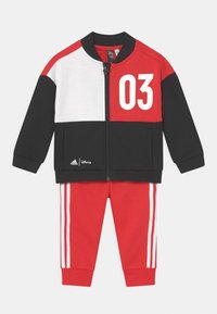 adidas Performance - DISNEY MICKEY MOUSE JOGGER SET - Tracksuit - black/red - 0