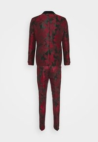 Twisted Tailor - LORRIS SUIT - Oblek - black/red - 14