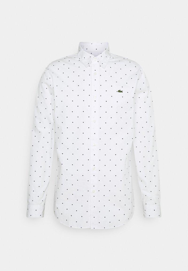 Lacoste - Shirt - white/navy blue