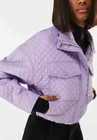 Bershka - Light jacket - mauve - 3