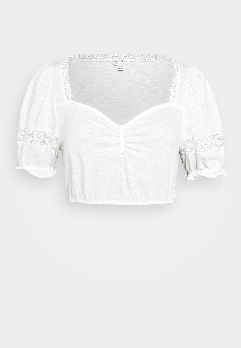 Miss Selfridge - RUCH CROCHET - T-shirts - cream