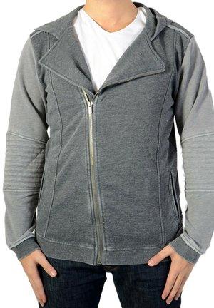 veste en sweat zippée - grey