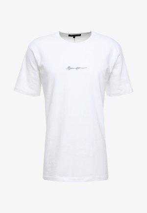 ESSENTIAL REGULAR RELAXED SIG TEE UNISEX - Camiseta básica - white