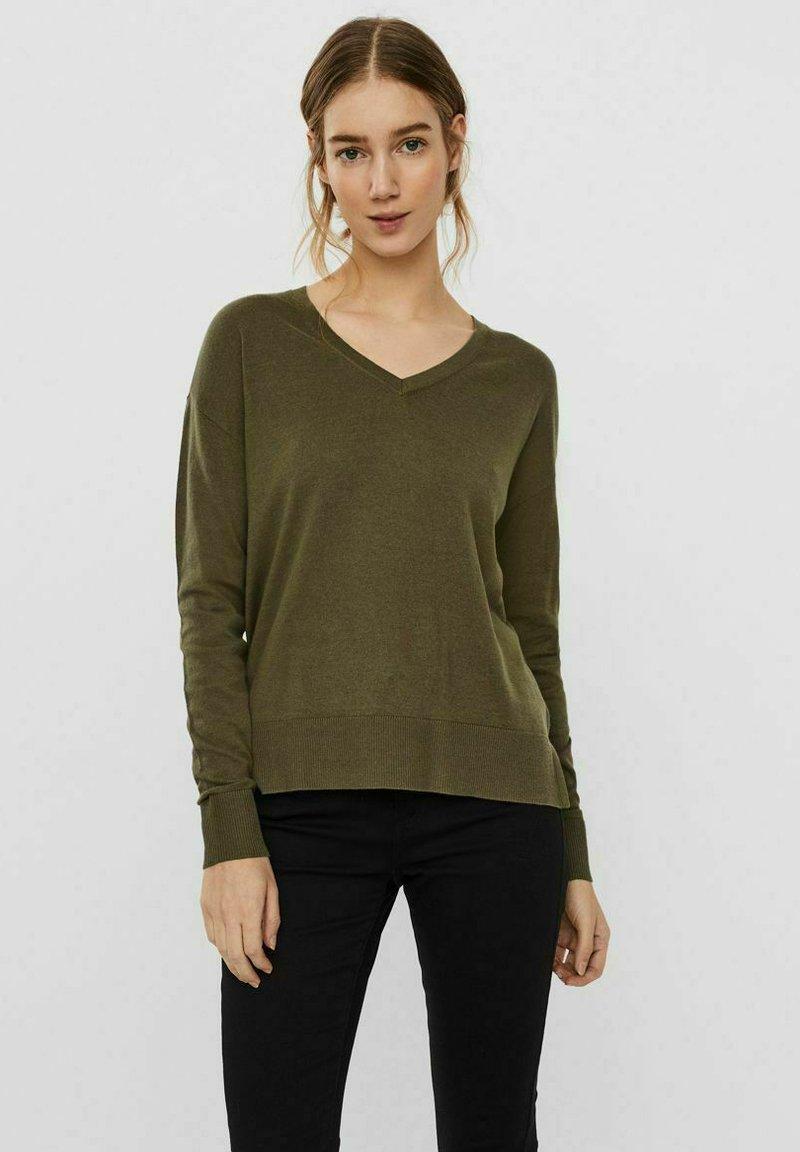 Vero Moda - Jumper - ivy green