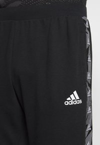adidas Performance - ESSENTIALS TRAINING SPORTS PANTS - Jogginghose - black/white - 4
