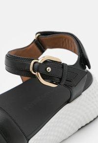Emporio Armani - Platform sandals - black - 6