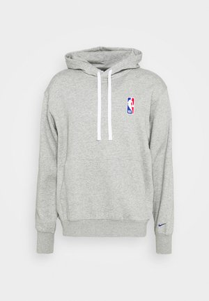 NBA LOGO HOODIE - Hoodie - dark grey heather/rush blue