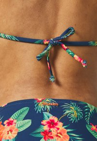 Brunotti - LOLLYPOP FLOWER WOMENS SET - Bikini - deep blue - 5