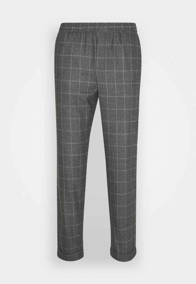 PILOU DRAWSTRING PANTS - Pantaloni - pewter mix