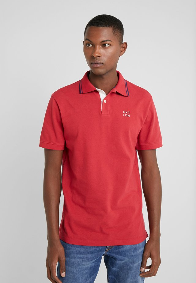 SLIM FIT - Poloskjorter - crimson