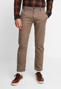 TOM TAILOR - STRUCTURE - Chino - morel brown - 0