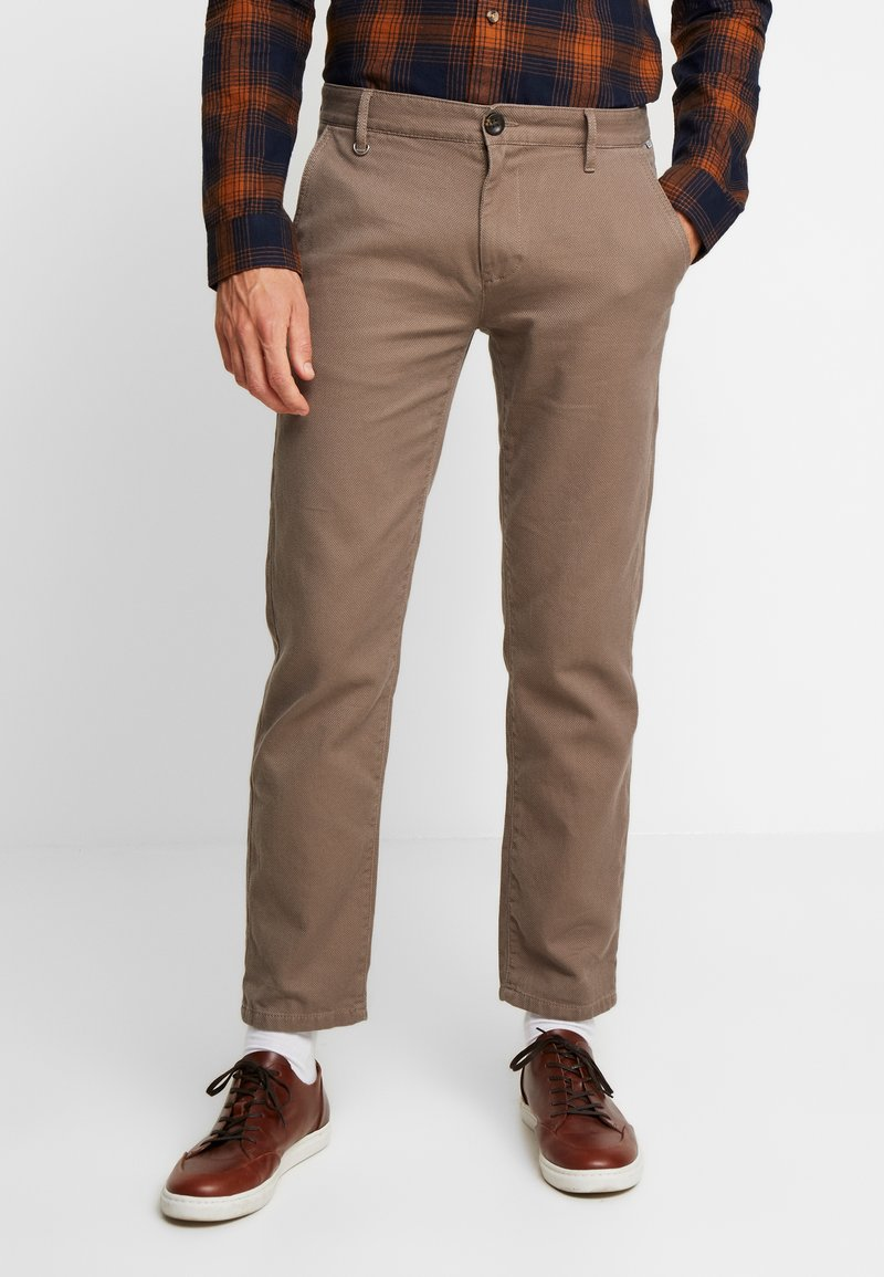 TOM TAILOR - STRUCTURE - Chino - morel brown