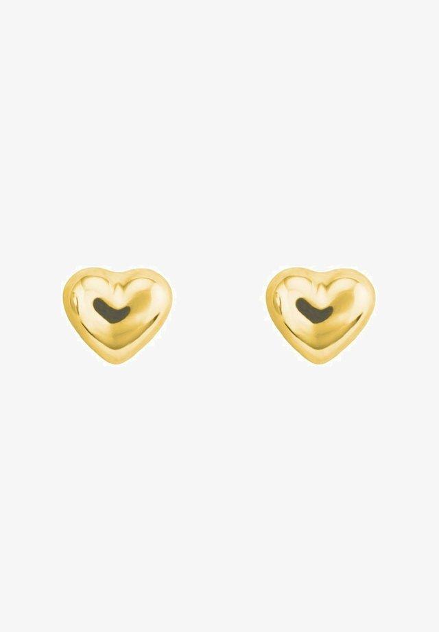 HERZ - Orecchini - gold