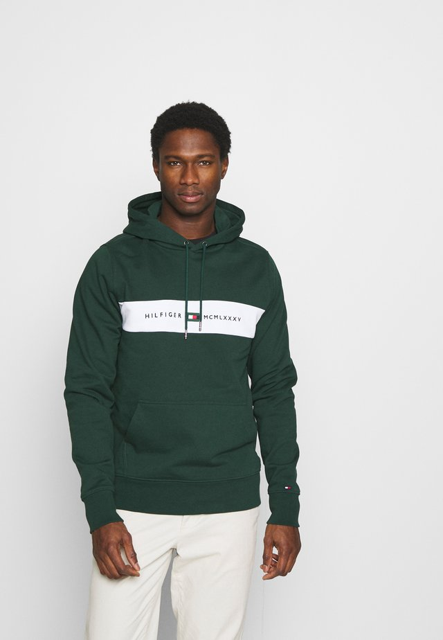 NEW LOGO HOODY - Sweatshirt - hunter
