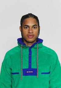 Columbia - POWDER - Fleece jumper - emerald green/lapis blue - 3