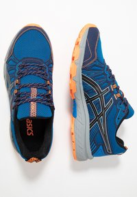 ASICS - GEL-VENTURE 7 - Löparskor terräng - electric blue/sheet rock - 1