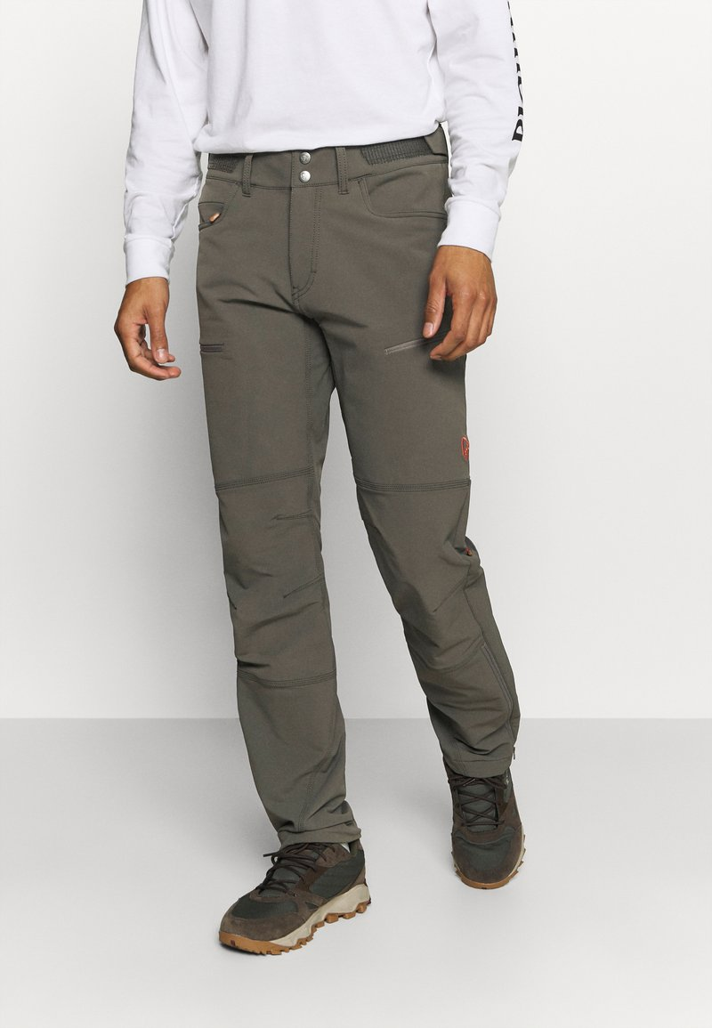 Norrøna - SVALBARD FLEX PANTS - Pantaloni outdoor - dark grey