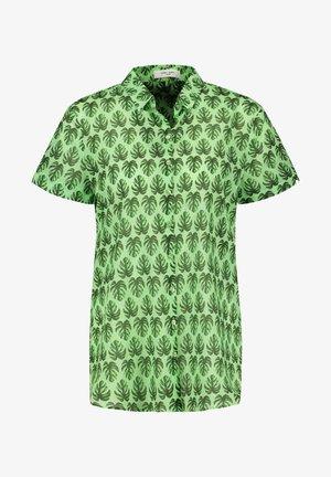 Camicia - grün druck