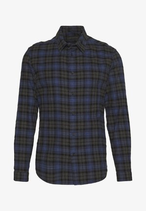 RUBEN - Shirt - blau/grey