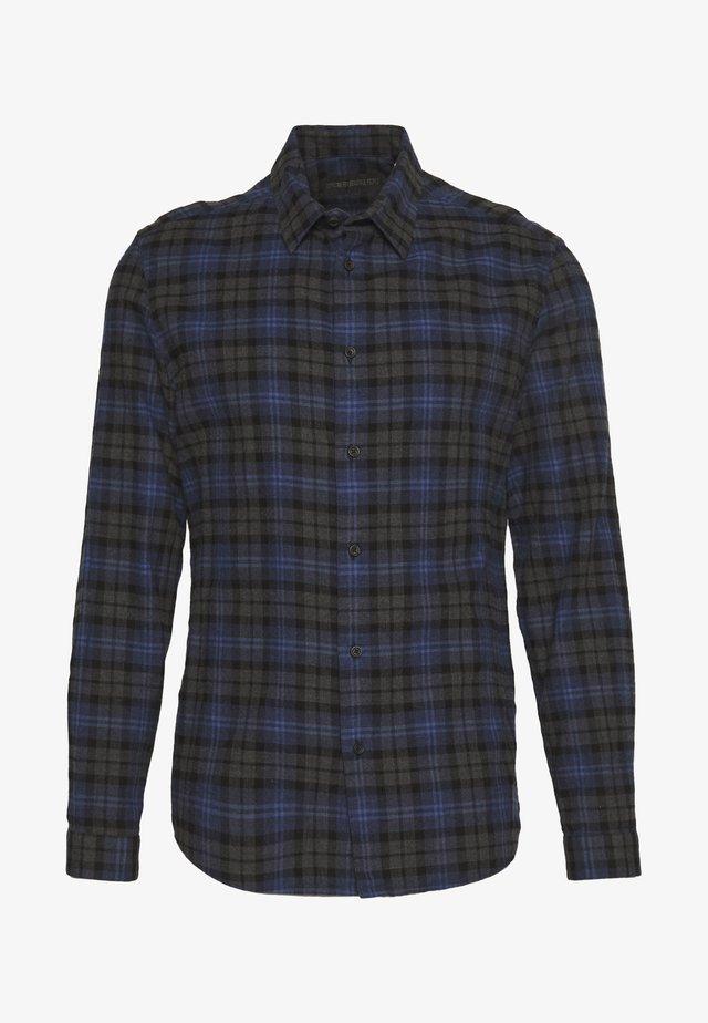 RUBEN - Overhemd - blau/grey