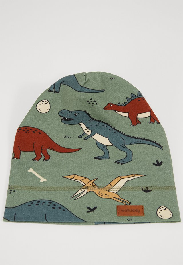 BEANIE FUNNY DINOSAURS - Muts - green